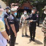 ทหารพรานนาวิกโยธิน จับกุมคนไทย หลบหนีเข้าเมือง คาดติดเชื้อโควิด19 จากกัมพูชา